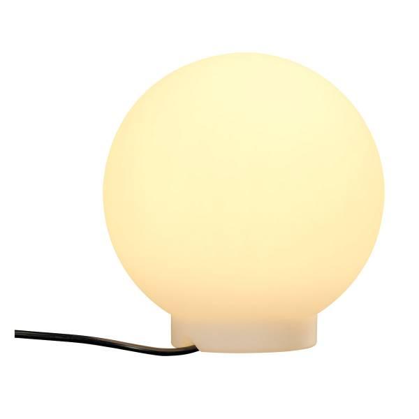 ROTOBALL FLOOR 25 outdoor luminaire, E27, white