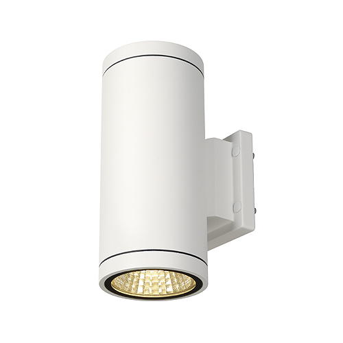 ENOLA_C OUT UP-DOWN wall lamp, 9W, 3000K, round, white