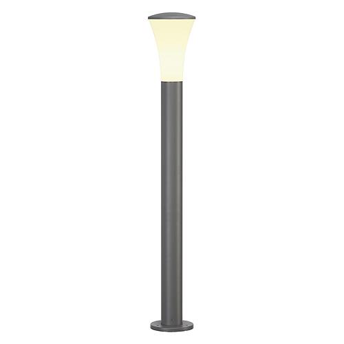 ALPA CONE 100 floor lamp, E27 ESL, max. 24W, IP55, stonegrey