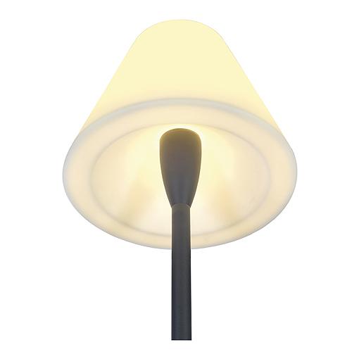 Alu earth spike for ADEGAN & PLENUM floor lamps, anthracite