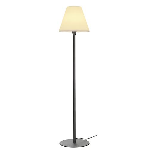 ADEGAN floor lamp, E27 ESL, max. 24W, IP54, anthracite