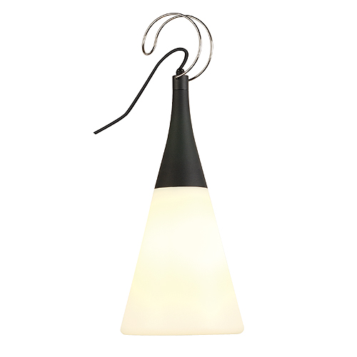 PLENUM SWING pendant lamp, E27, max. 25W, round, anthracite