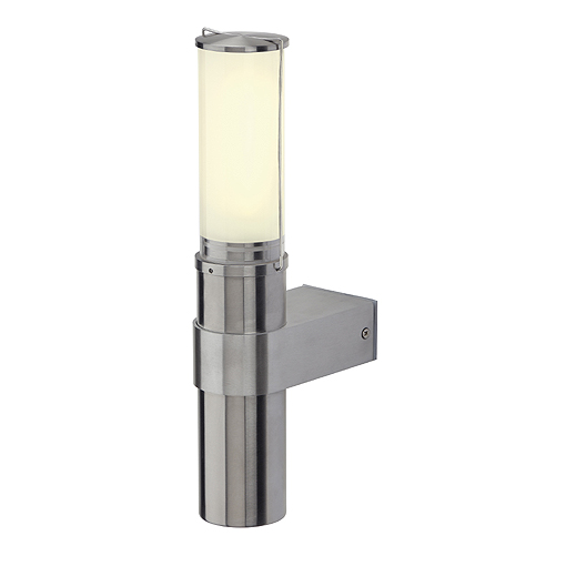 BIG NAILS WALL, E27 ESL, max. 15W, IP44, stainless steel 304