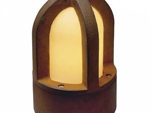RUSTY CONE floor lamp, E14, max. 40W, IP54, rusted iron