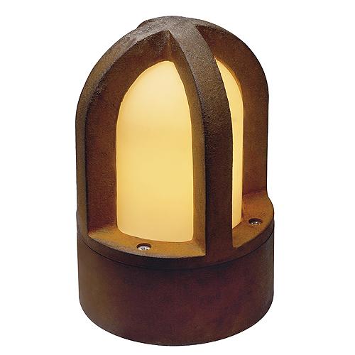 RUSTY CONE floor lamp, E14, max. 40W, IP54, rusted iron