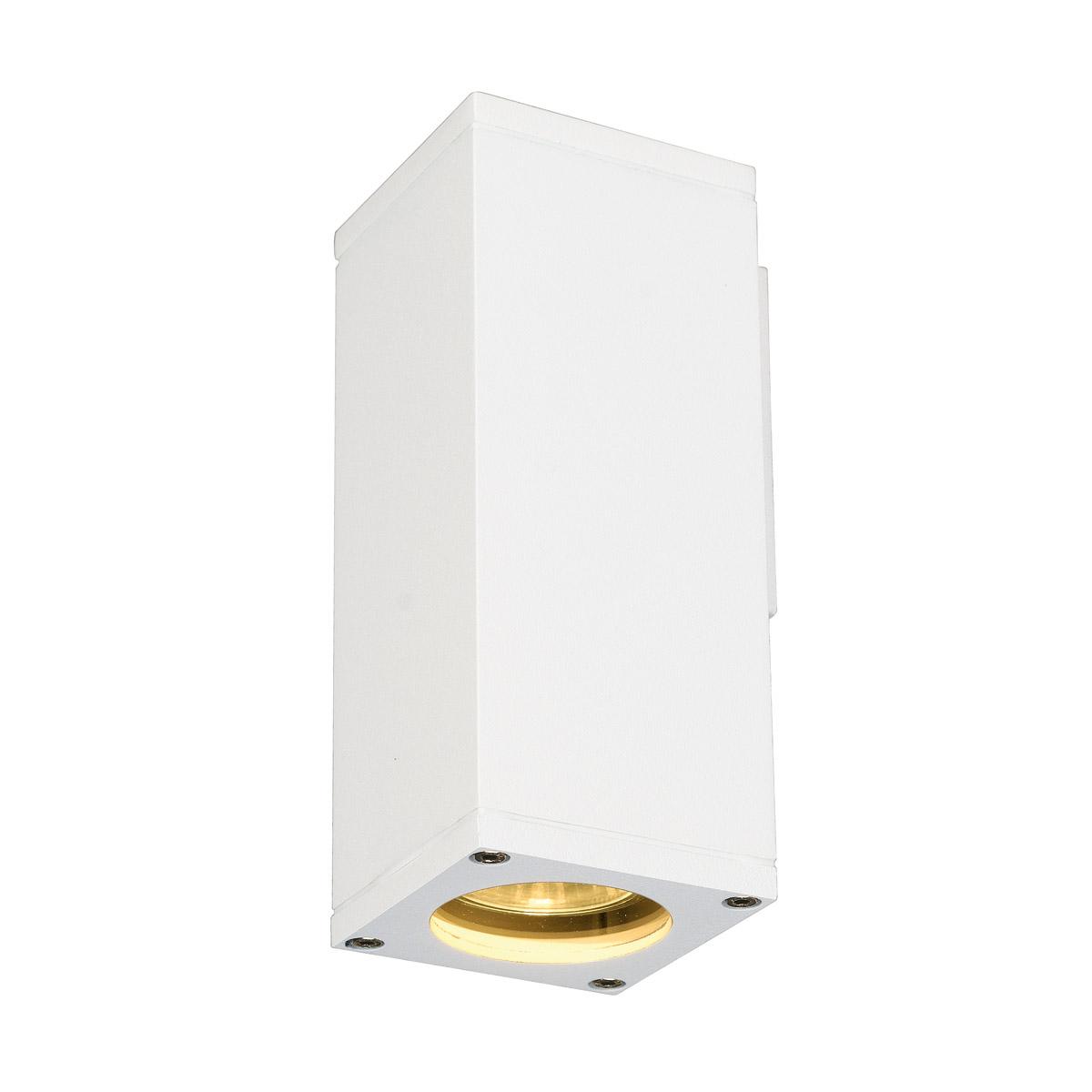 THEO WALL OUT WALL LUMINAIRE, GU10, max. 35W, angular, white