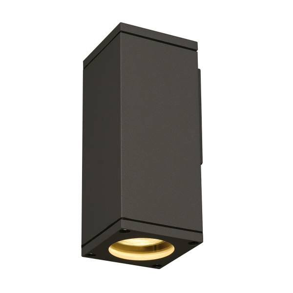 THEO WALL OUT WALL LUMINAIRE, GU10, max. 35W, angular, anthr