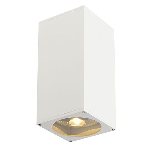 BIG THEO UP/DOWN OUT ES111, max. 2x75W, square, white