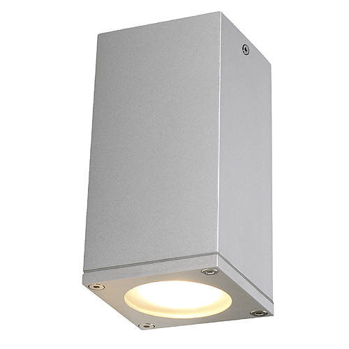 THEO CEILING OUT GU10 ceiling l, max.35W, square, silvergrey
