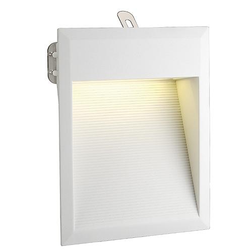 DOWNUNDER LED 27 wall lamp, 1,8W, 3000K, IP44, white