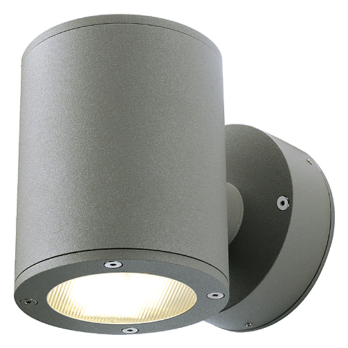 SITRA WALL UP-DOWN wall l, GX53, max. 2x9W, IP44, anthracite