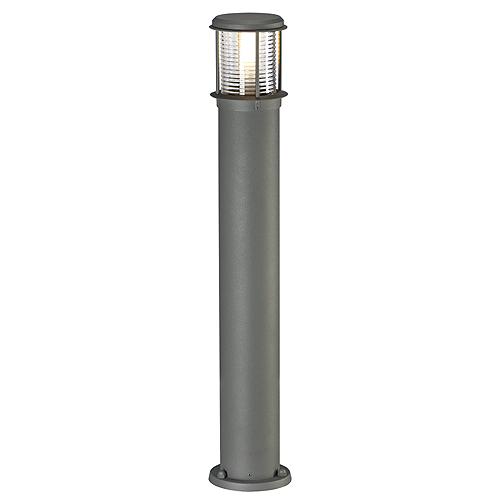 OTOS GLASS floor lamp, E27, max.15W, IP43, anthracite