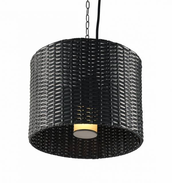 ADEGAN MANILA, outdoor pendant, TC(…)SE, round, anthracite