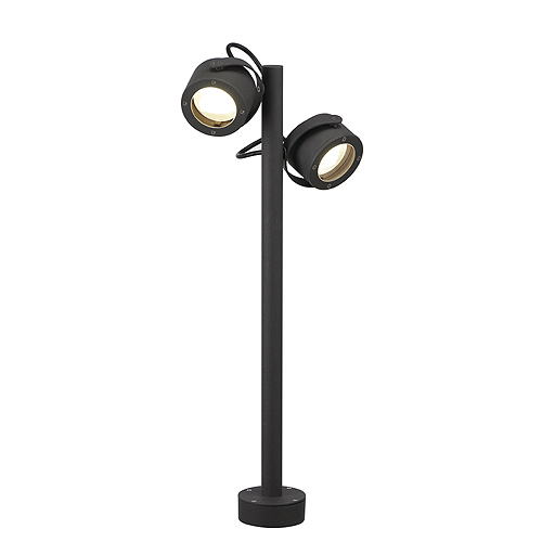 SITRA 360 SL outdoor lamp, GX53, max. 2x9W, anthracite