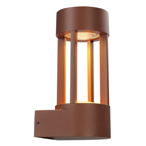 SLOTS WALL, 6,3W LED, warmwhite, rusty