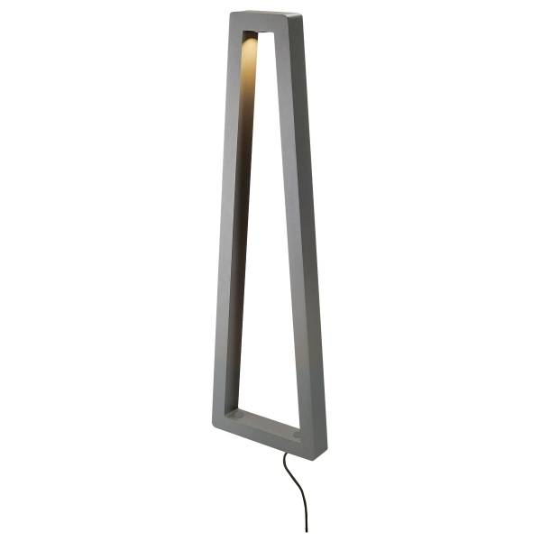 BOOKAT standing luminaire, 12W LED, 3000K, anthracite