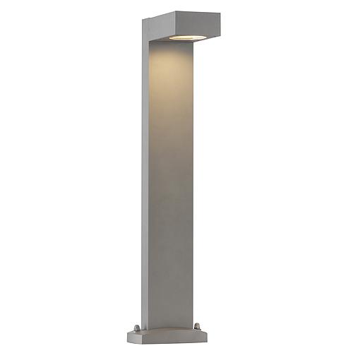 QUADRASYL floor lamp SL 75, GX53 max.11W, square, silvergrey