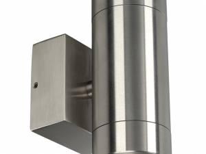 Anista Steel GU10 UP/DOWN wall l, GU10, max. 2x35W, st Steel