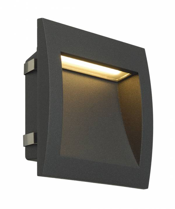 Downunder OUT LED L, 3,3W, 3000K, anthracite