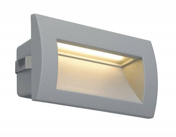 Downunder OUT LED M, 3,3W, 3000K, silvergrey