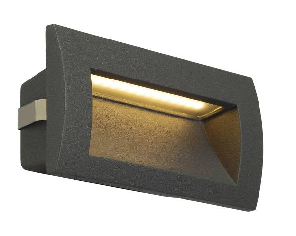 Downunder OUT LED M, 3,3W, 3000K, anthracite