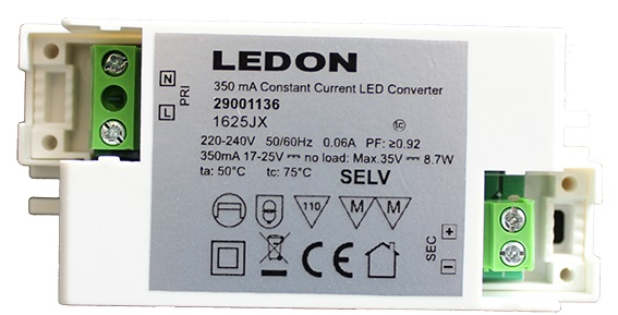 Led Driver for 10W, 220-240V CC 350mA