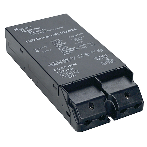 LED power unit, 100W, 24V, series Shelf Strip