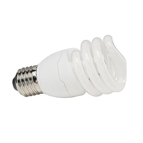Energy-saving bulb spiral shape, E27, 15W, 2700K