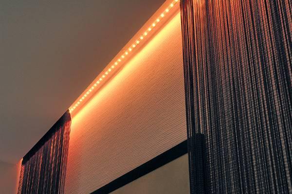 LED Strip 30,5cm with 24 LED, 2W, 3000K, 24V DC