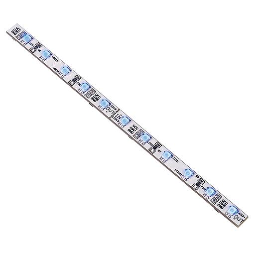 LED Strip 30,5cm with 24 LED, 2W, blue, 24V DC