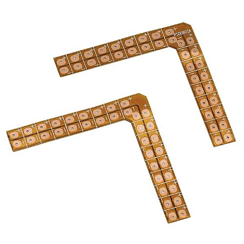 Soldering edges 90° for FLEXLED ROLL, max.2A, 12V/24V, 2 pcs