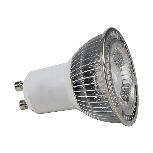 GU10 LED, 5W, 3000K, 380lm, 60°