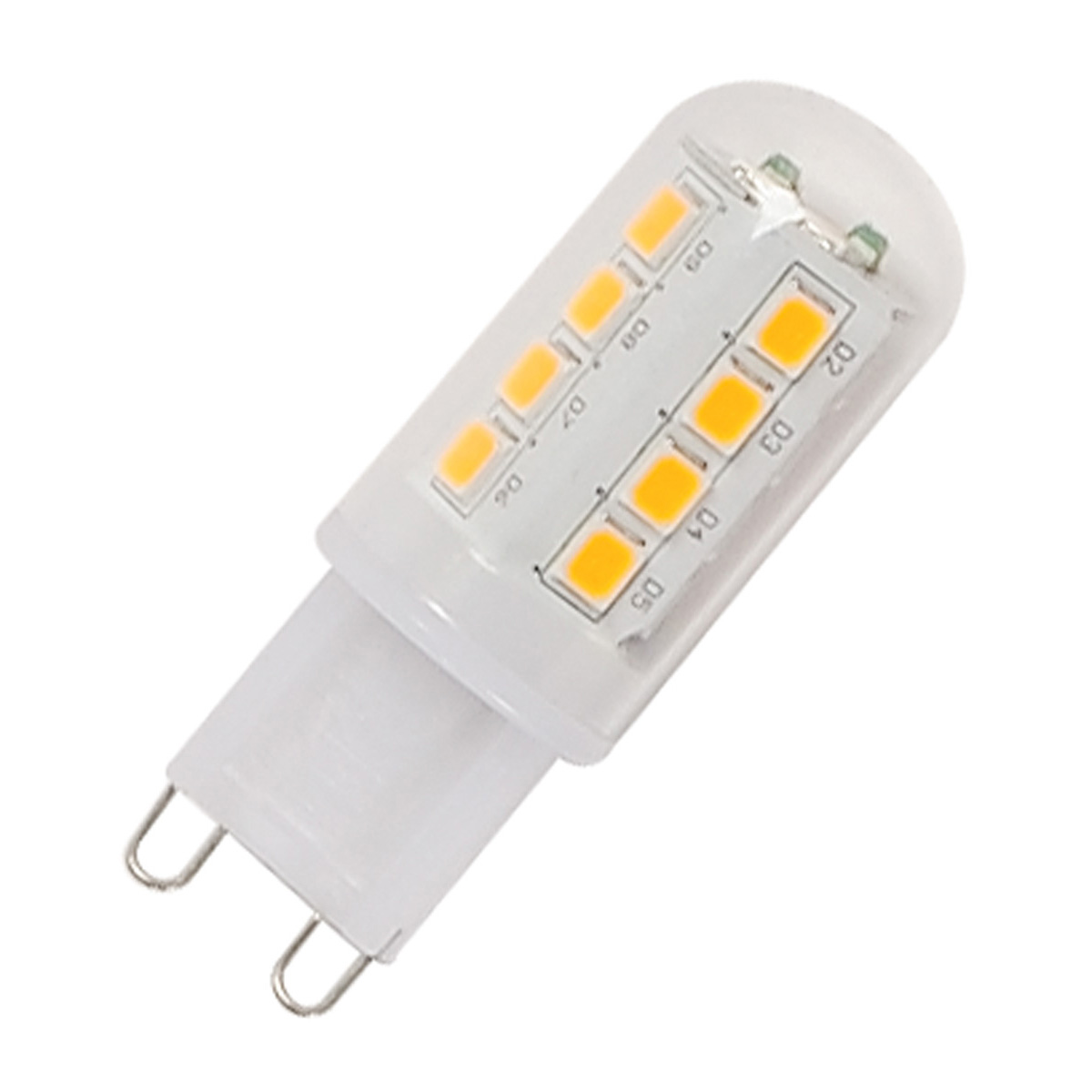 G9 LED lamp, 2.3W, 2700K, Multidot