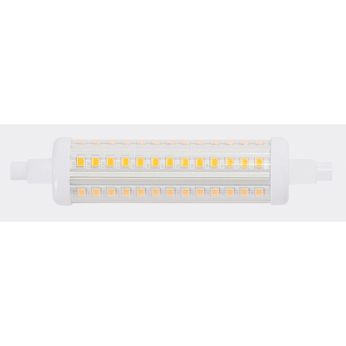 R7S LED lamp, 9.5W, R7S-118, 2700K