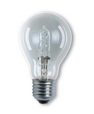 Halolux 64541 A CLA 20W E27, halogen bulb, clear
