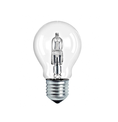 Halolux 64544 A PRO 57W E27, halogen bulb, clear