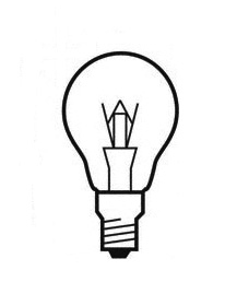 Halolux 64543 B PRO 46W E14, halogen bulb, clear