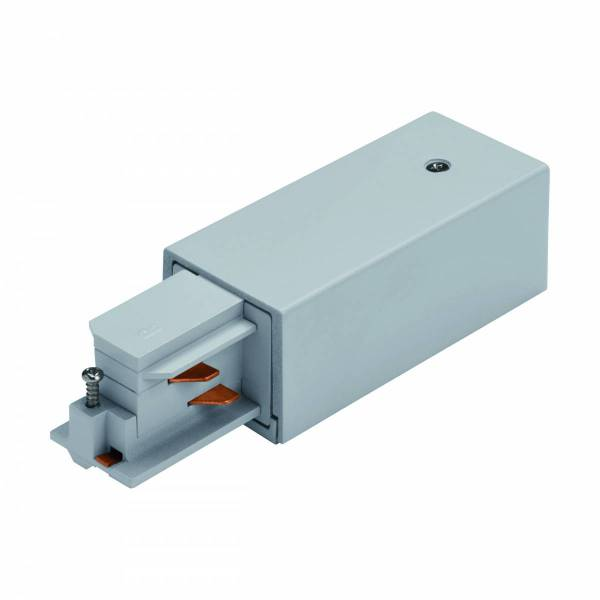 3-phase Feed-in surface plastic, left silver