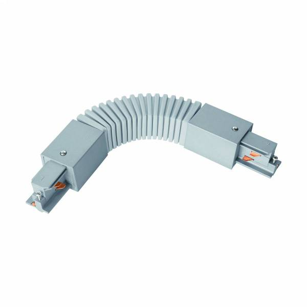 3-phase Flex connector plastic, Kabel silver