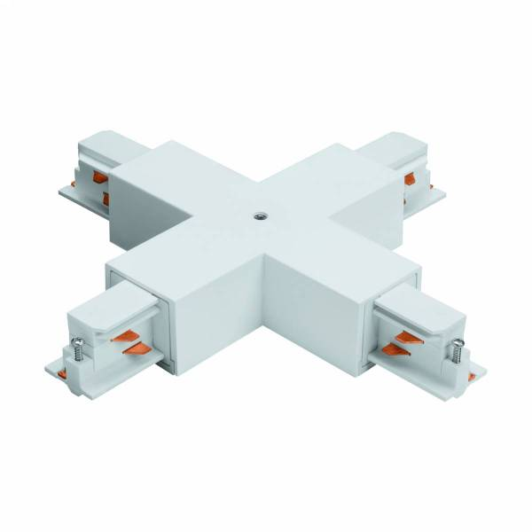 3-phase X-Connector surface, plastic white