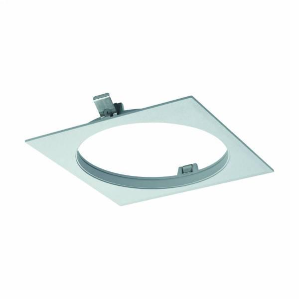 """Ferronego Installation frame """"111"""" square / 1-fach silver"""