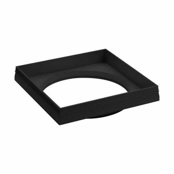 """Ferronego Installation frame """"111"""" square / 1-fach black"""