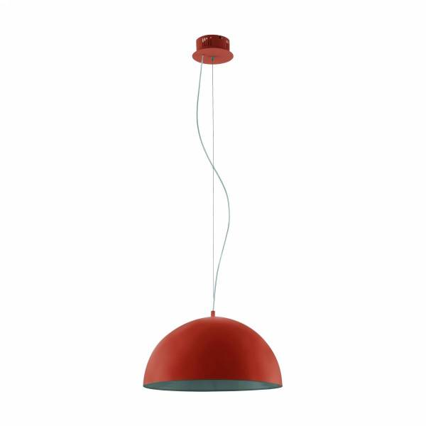 "Pendant luminaire ""Gaetano"" Ø 380 LED 18W orange IP20"