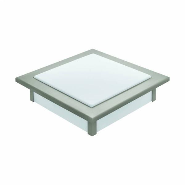 """Ceiling luminaire """"Auriga Pro"""" 18W white nickel-matt IP20"""