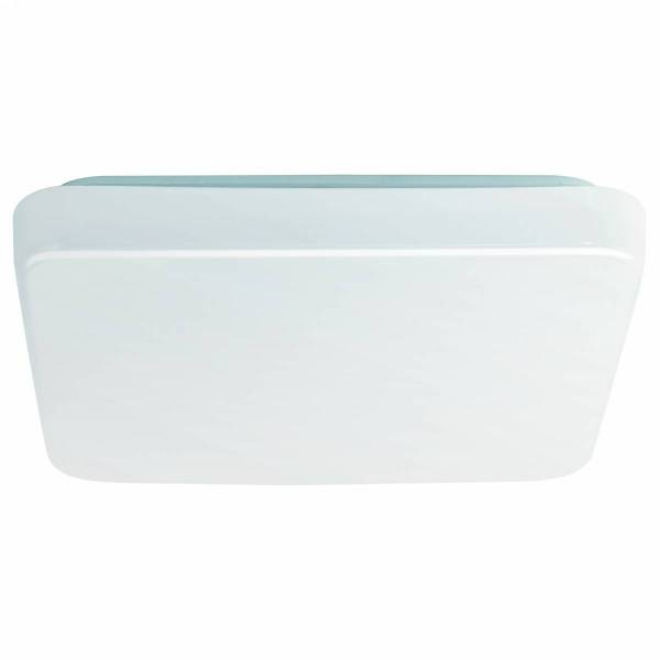 "Ceiling luminaire ""Giron Pro"" 280 / square 12W white IP20"
