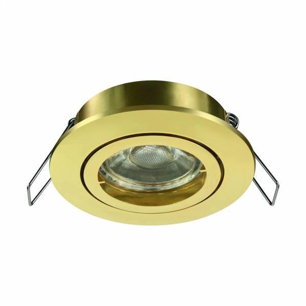Tedo Pro 50W GU10 round brass IP20
