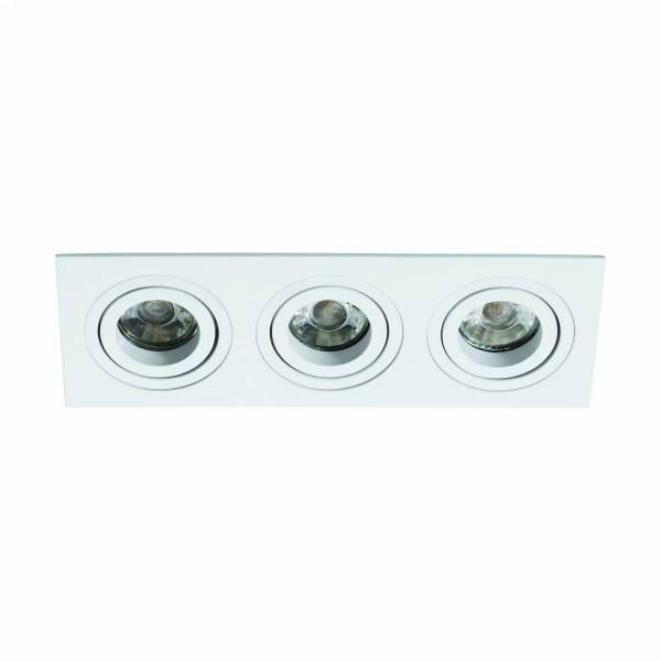 Terni Pro square / 3-fach / swivelling 50W white IP20