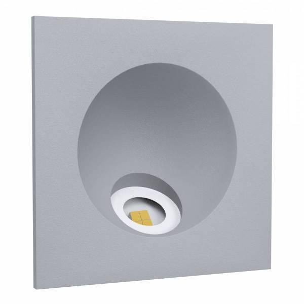 "Recessed LED Spotlight ""Zarate"" 2W 4000K silver IP20"
