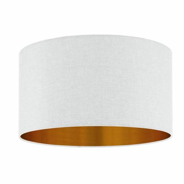 """Shade for Pendant luminaire """"Pasteri Pro"""" white/copper"""