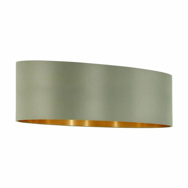 """Shade for Pendant luminaire """"Pasteri Pro"""" 2x60W taupe/gold"""